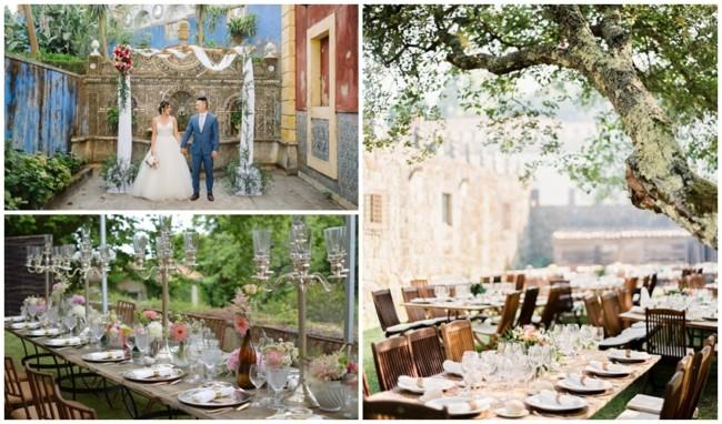 como decorar casamento em Portugal