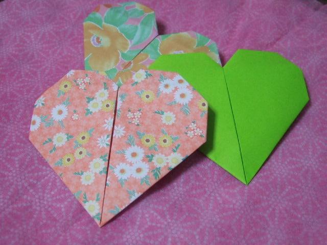 coração de dobradura dia das mães