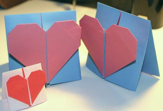 ideia de origami para dia das mães