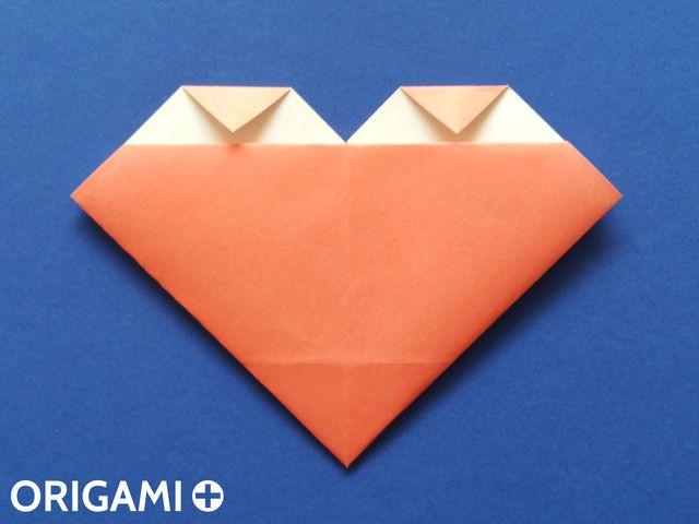 cartão de origami para mãe