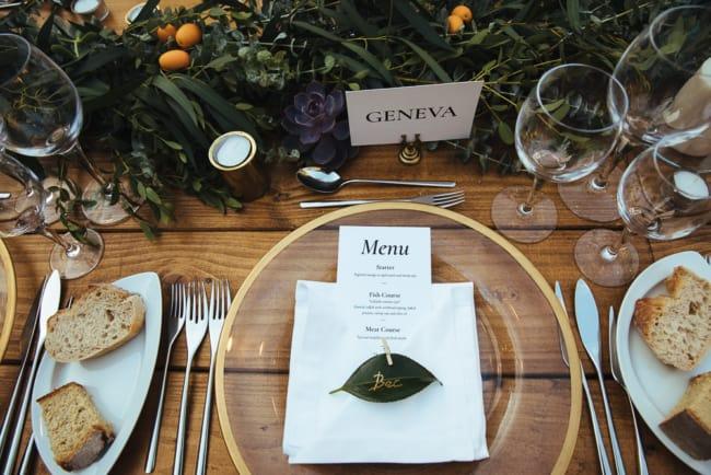 menu para festa de casamento em Portugal