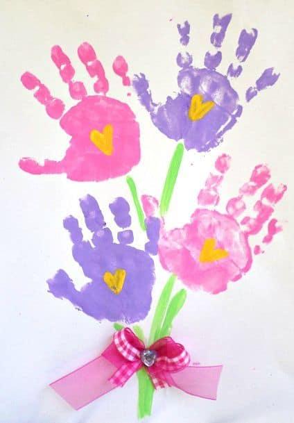 capa de cartão dia das mãos para educação infantil