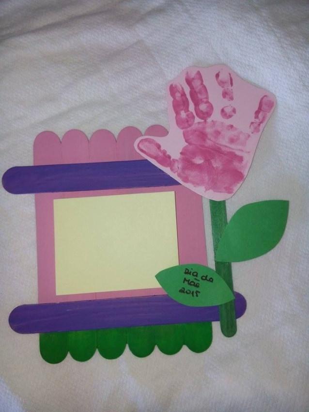 cartão dia das mães com foto para educação infantil