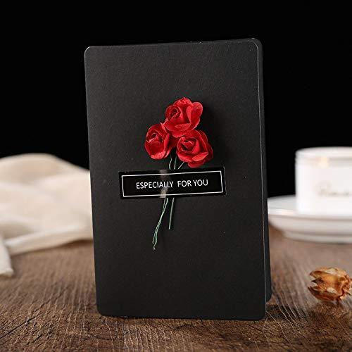 cartão com flor 3D dia das mães