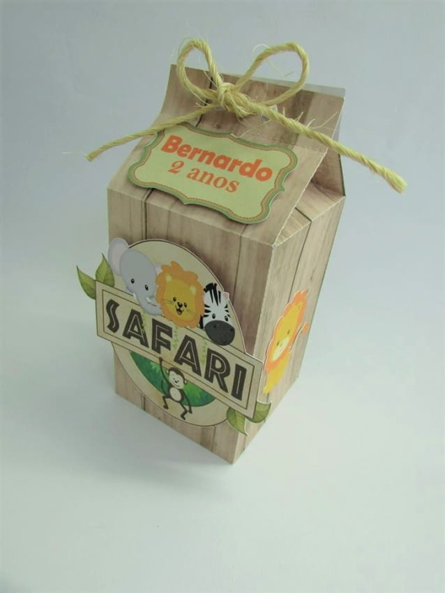 Caixa milk safari luxo