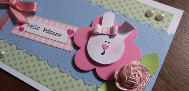 Cartãozinho de páscoa artesanal