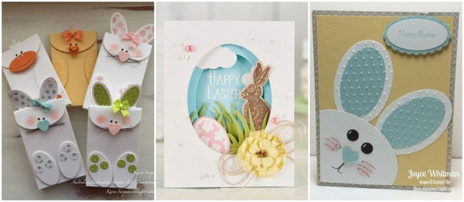 Cartões artesanais de Páscoa 3