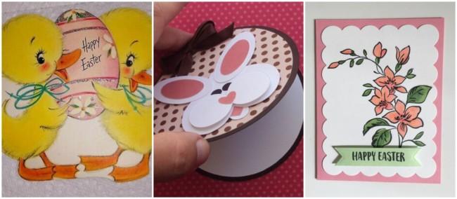 Cartões artesanais de Páscoa 4