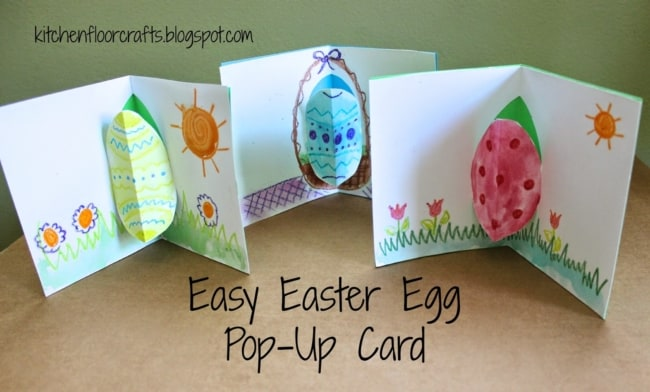 Cartões pop up criativos para a Páscoa