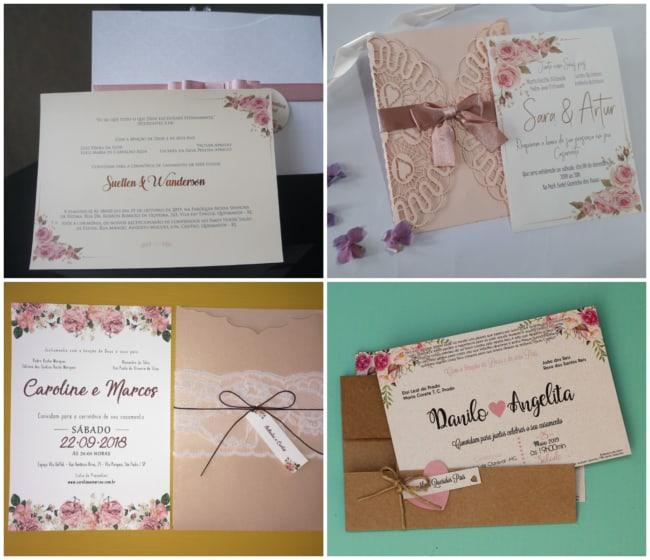 Convites rose