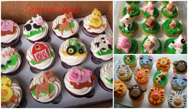 Cupcake fazendinha 1
