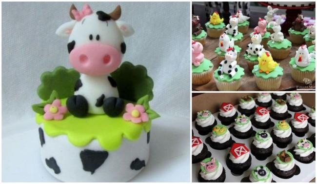 Cupcake fazendinha 2