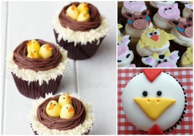 Cupcake fazendinha 3