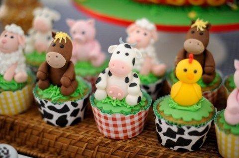 Cupcake fazendinha 4
