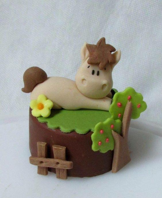 Cupcake fazendinha de bichinho