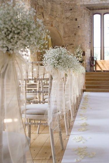 Decoração para casamento dos sonhos com flores delicadas14