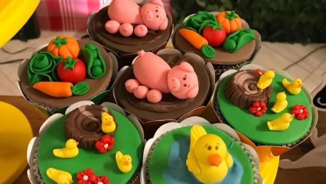Festa de criança inspirada na fazendinha