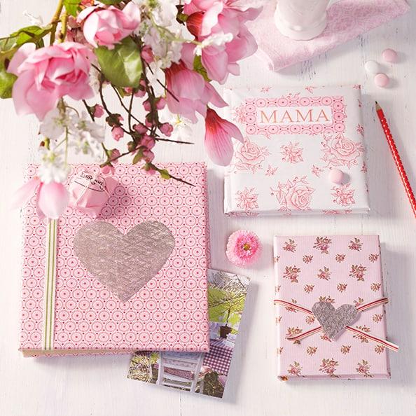Homenagem para o dia das mães caderno e agenda