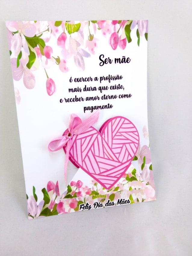 Homenagem para o dia das mães cartão com mensagem