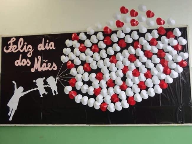 Homenagem para o dia das mães na escola