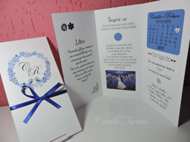 Manual dos padrinhos azul completo