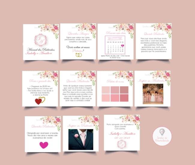 Manual dos padrinhos rose