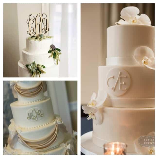 bolo de casamento com brasão