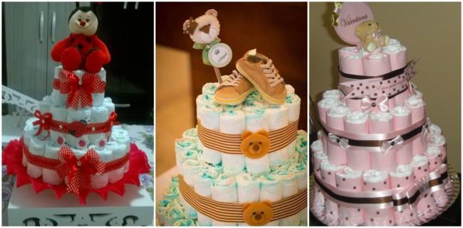 bolo de fraldas feminino 3