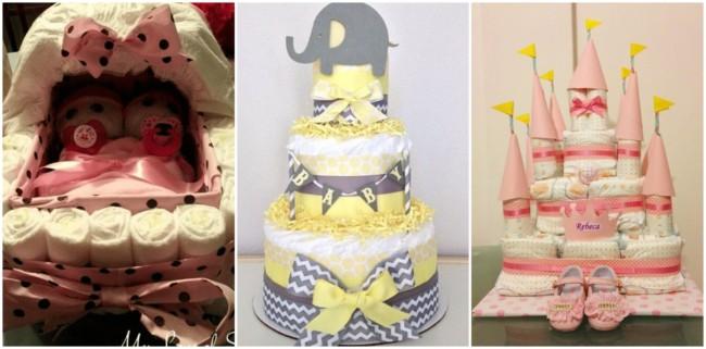 bolo de fraldas feminino 4