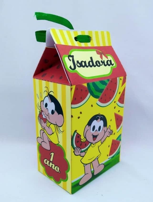 caixa milk magali pequena