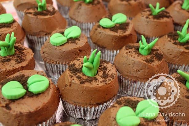 cupcakes hortinha