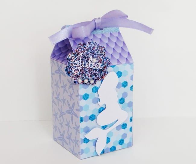 ideias de Caixa milk sereia