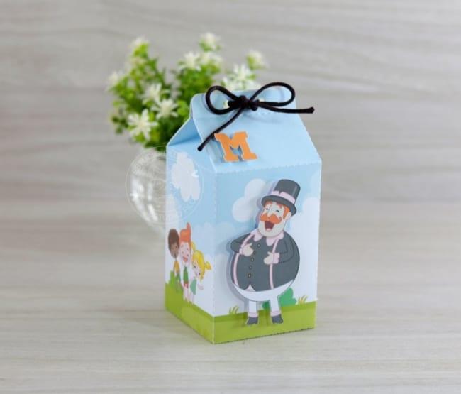 ideias de caixa milk mundo bita