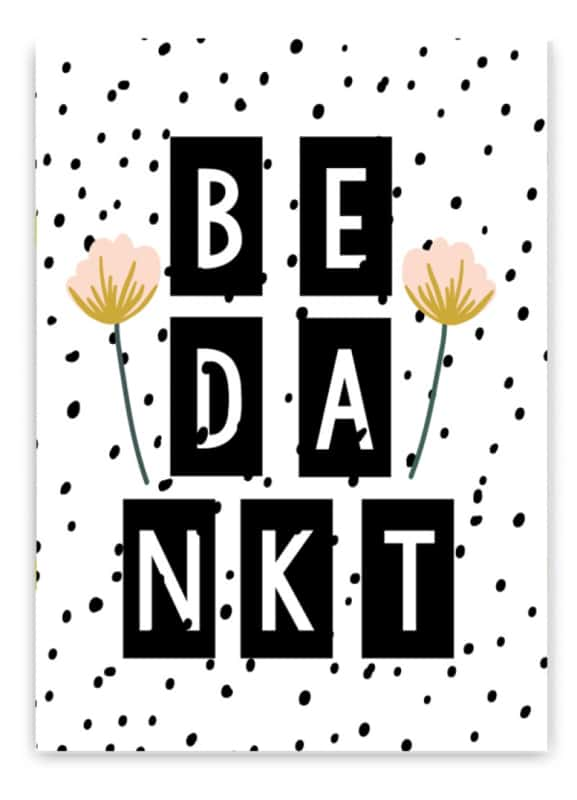 mensagens de agradecimento de aniversário em holandes