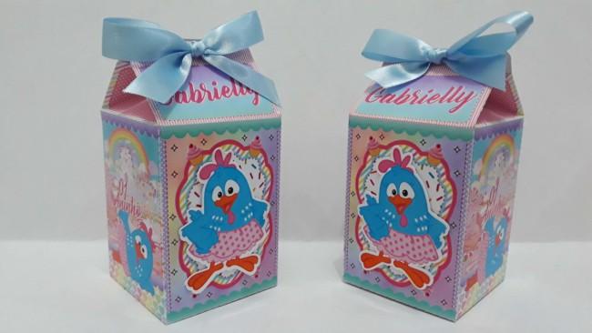 modelos de caixa milk galinha pintadinha