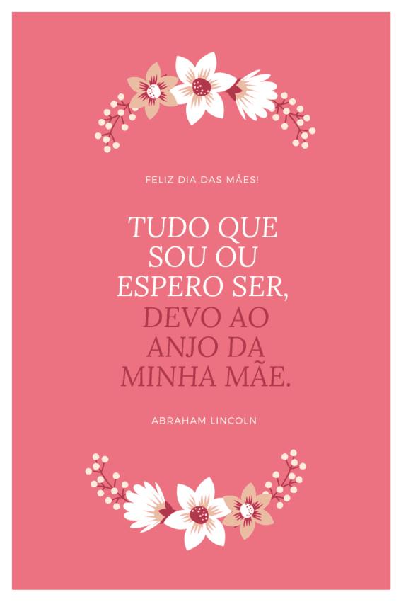 mensagem especial de dia das mães