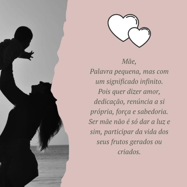 poema virtual para enviar no dia das mães