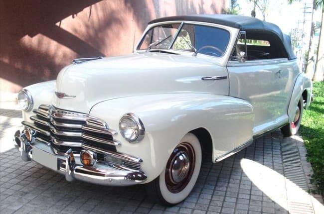 Chevrolet Fleetmaster branco