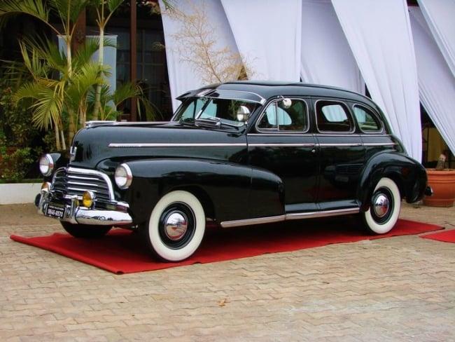 Chevrolet Fleetmaster para casamento