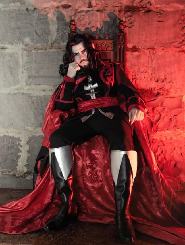 Fantasia de Drácula masculina