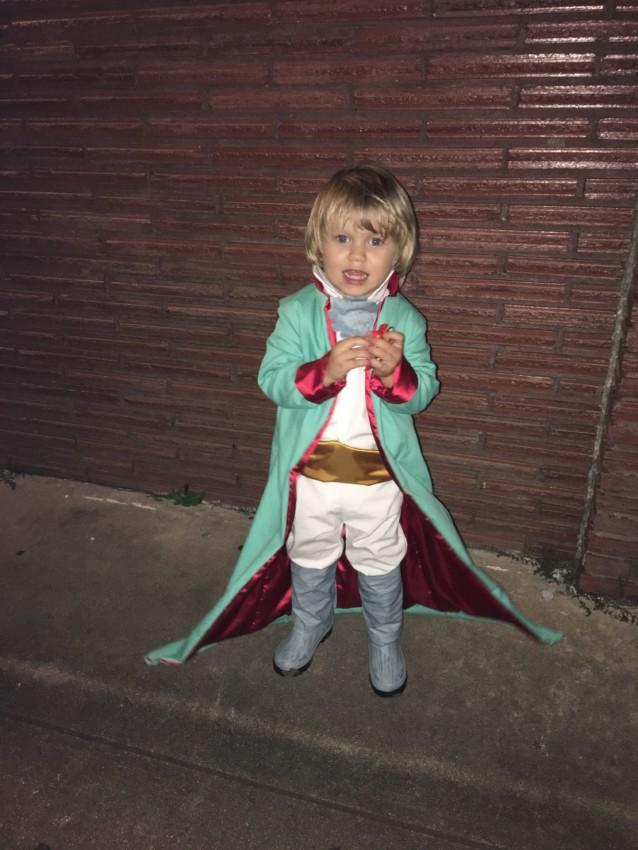 Fantasia de pequeno príncipe passo a passo