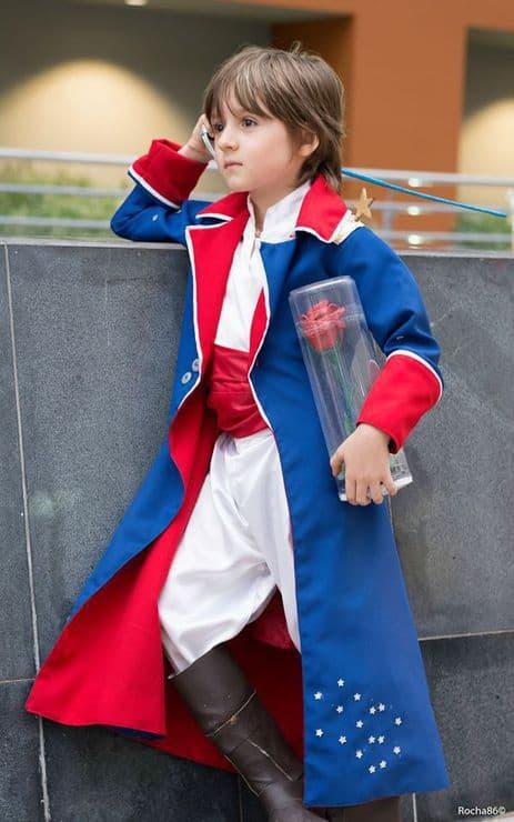 Fantasia de pequeno príncipe teen