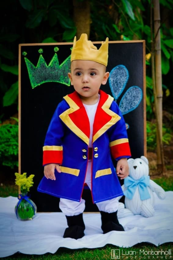 Fantasia de pequeno príncipe
