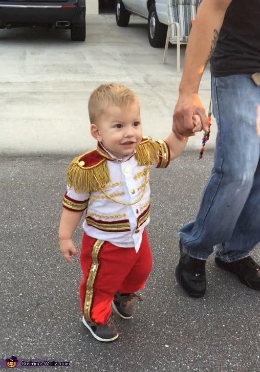 Fantasia de príncipe para bebê