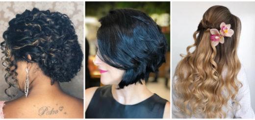 Montagem de penteados para mãe da noiva