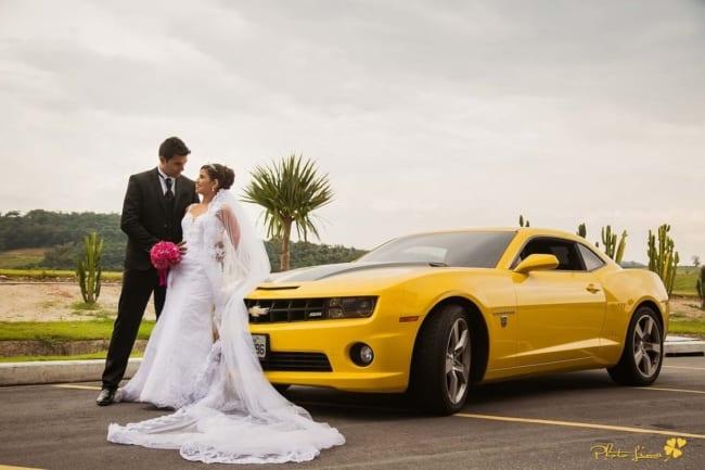 aluguel de camaro para casamento