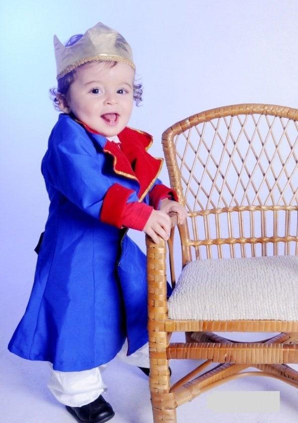 bebê príncipe