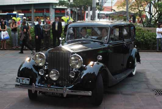 carro Rolls Royce para casamento