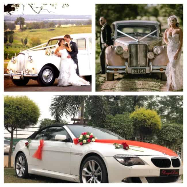 carro para casamento modelos