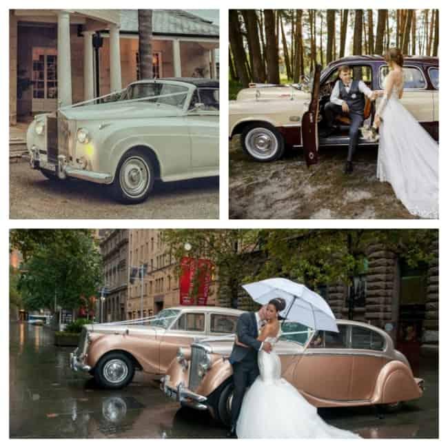 carro para casamento vintage